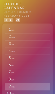 Calendario: A Flexible Calendar Plugin SPイメージ01